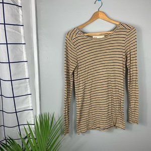 Madewell Hi-Line Striped Long Sleeve